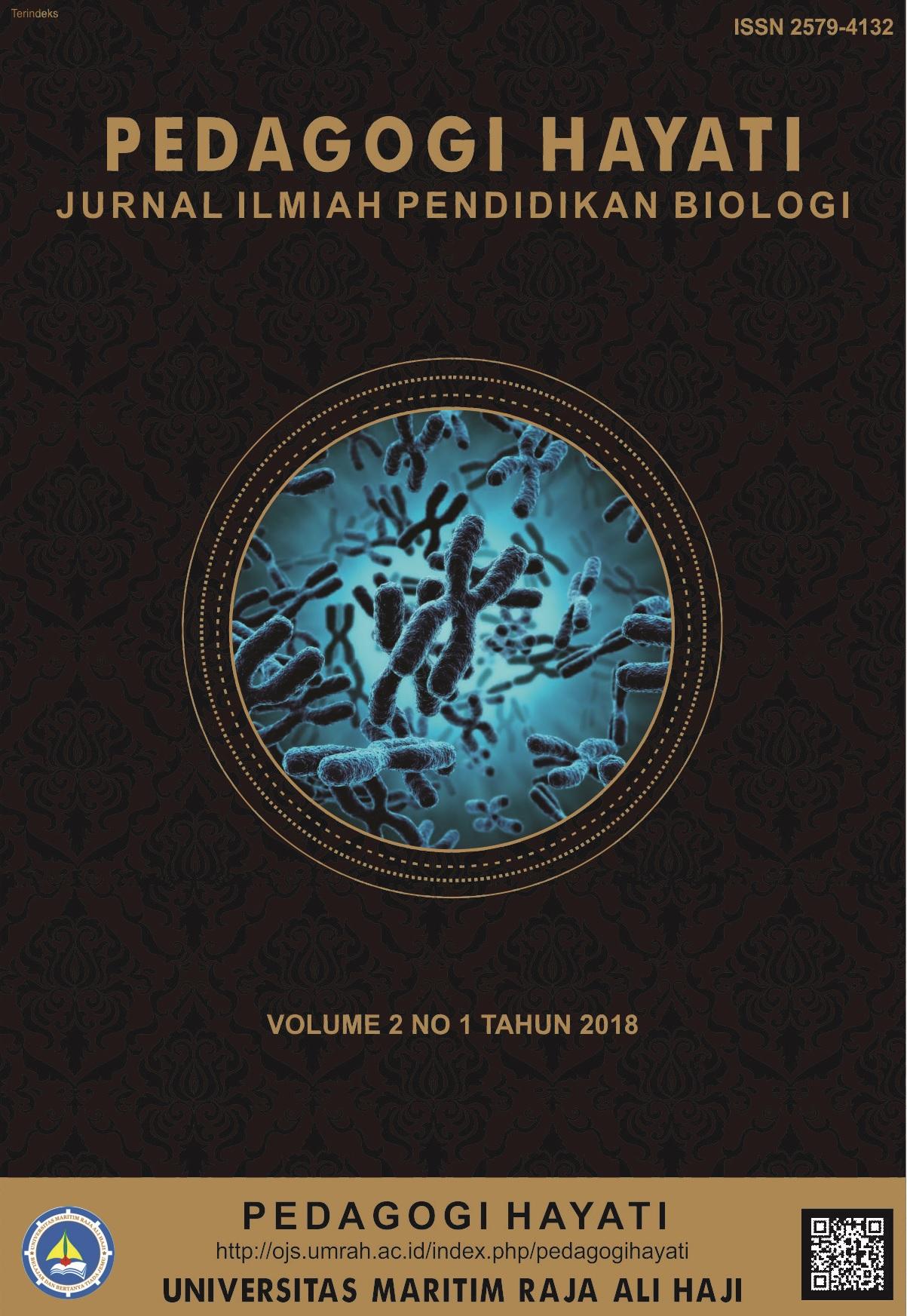 Pedagogi Hayati jurnal pendidikan biologi penelitian terbaru