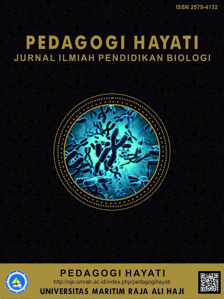 pedagogi hayati jurnal pendidikan biologi penelitian