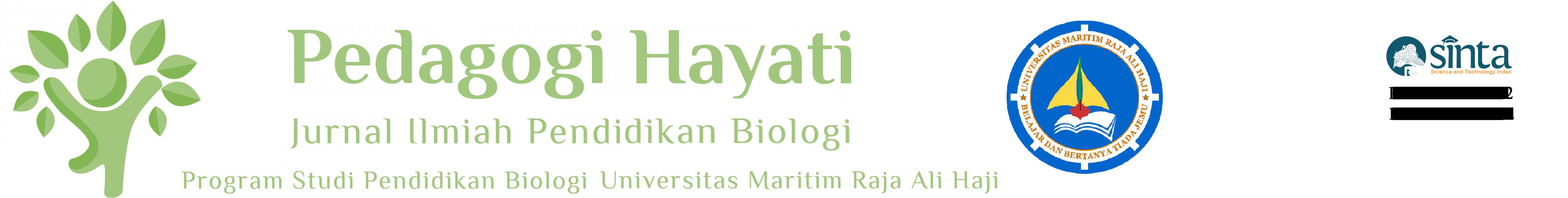 Pedagogi hayati jurnal ilmiah pendidikan biologi